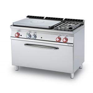 Cucina a gas professionale AFP/ TPF2-712GP