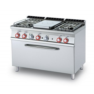 Cucina a gas professionale AFP/TPF4-712GP