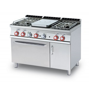 Cucina a gas professionale AFP/ TPF4-712GPV