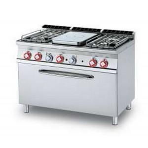 Cucina a gas professionale AFP/ TPF4-712GPE