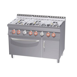 Cucina a gas professionale AFP/CFA6-712GPV