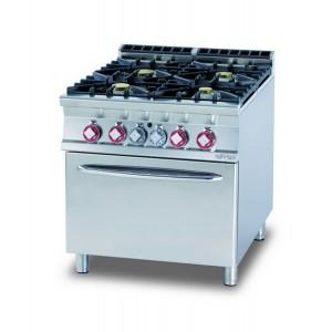 Cucina a gas professionale AFP/ CF4-98G