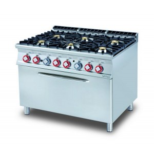 Cucina a gas professionale AFP/ CF6-912G