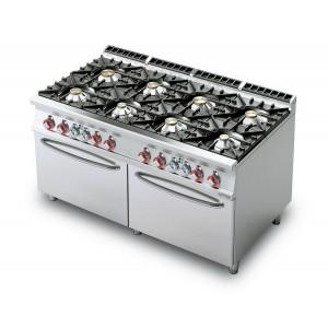 Cucina a gas professionale AFP/CF8-916GE