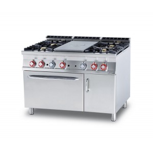 Cucina a gas professionale AFP/ TPF4-912GEV