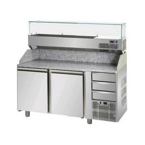 Banco frigo pizzeria AFP/PZ02EKOC3/VR4160VD
