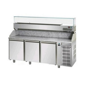 Banco frigo pizzeria AFP/PZ03MID80/VR4215VD