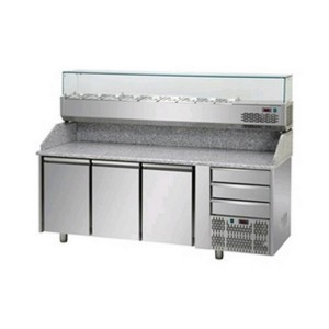 Banco frigo pizzeria AFP/PZ03EKOC3/VR4203VD