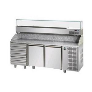 Banco frigo pizzeria AFP/PZ03MIDC6/VR4215VD