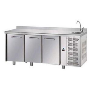 Banco frigo alimentare AFP/TF03EKOGNLAL in acciaio inox