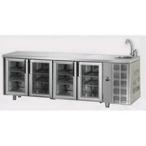 Tavolo frigo in acciaio inox AFP/TF04MIDPVL