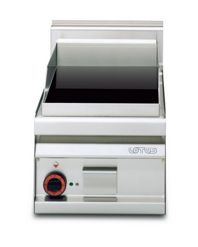 AFP / FTC-4EM electric fry top with ceramic glass plate