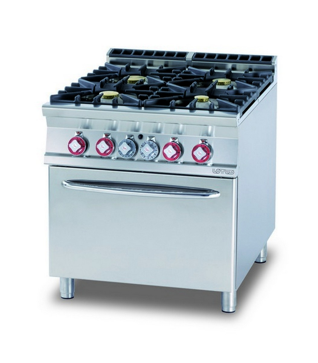 Commercial gas cooking range AFP / CF4-98G