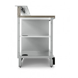 Neutral bar counter BBL1500AB with counter top setting