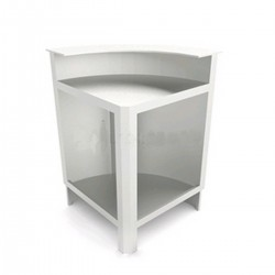 Curved Bar Corner 90 ° CB2 / 90 ° AB with Counter Top