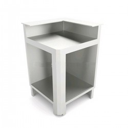 Squared bar corner IA2 / 90 ° AB Preparation for counter top