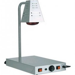 Floor with heating lamp for infrared food AFP / PCI4718