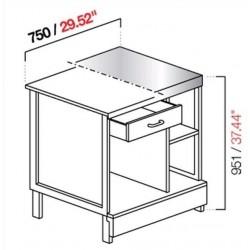 Cash desk CX / 84L75 B