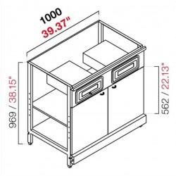 Cash desk CX / 84L100 B