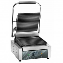 Electric hot plate panini in cast iron AFP / PE25LN