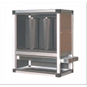 Group for AFP / AIR / 08 filter hood with 8/10 galvanized sheet panels