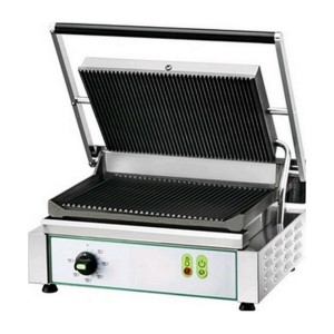 Electric hot plate panini in cast iron AFP / PE35RN