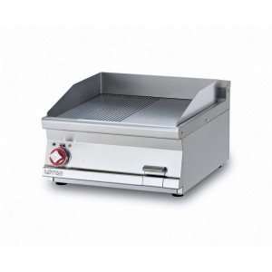 Electric fry top AFP / FTLRT-76ETS with 1/2 smooth plate 1/2 chrome grooved plate