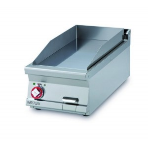 Electric fry top AFP / FTLT-94ETS with smooth chrome plate