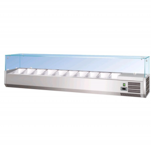 AFP / RI330 refrigerated display case for ingredients