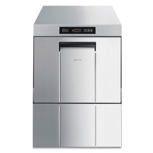 AFP / UD500DS front loading dishwasher in stainless steel AISI